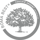 BOMA BEST - Certified Silver