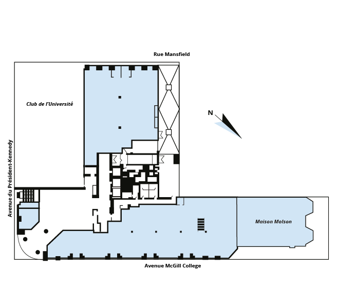 Plan d'étage 2200 McGill College