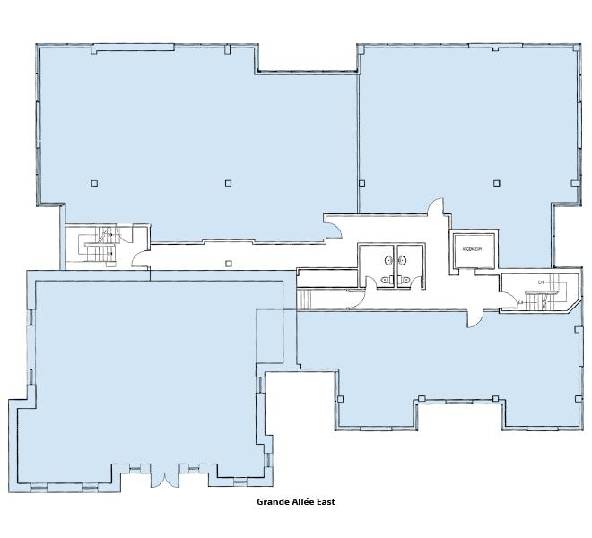 Le 333 Grande Allée Est floor plan