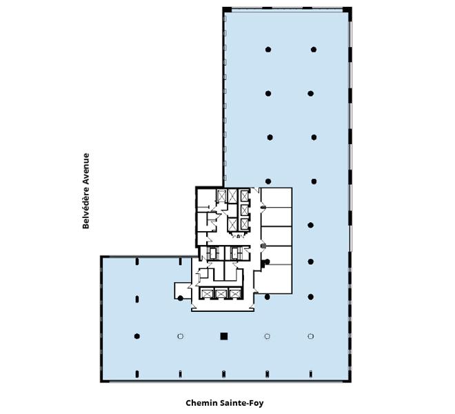 Édifices Bois Fontaine (880) floor plan