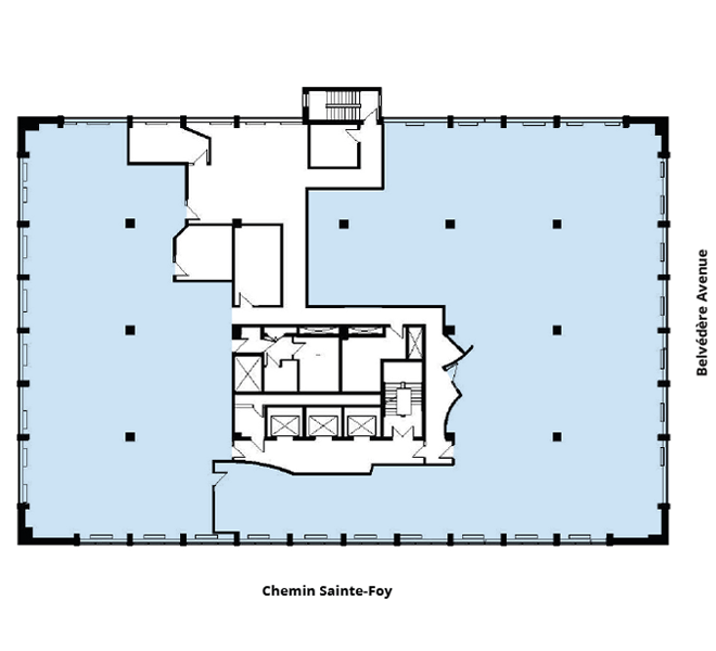 Édifices Bois Fontaine (930) floor plan