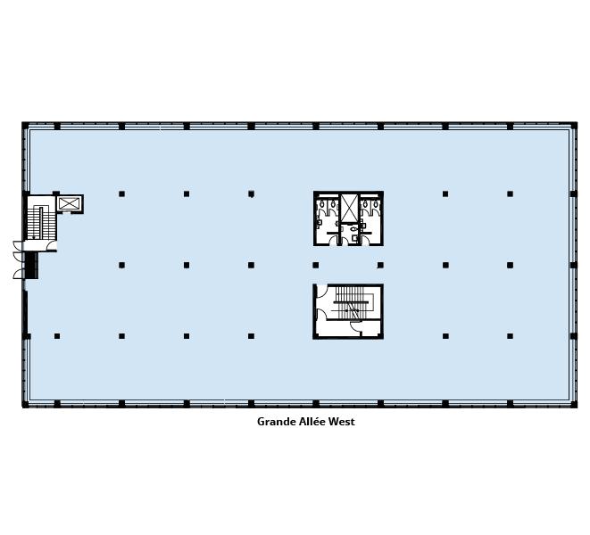 Le 1091 Grande Allée Ouest floor plan