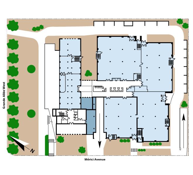 Le 925 Grande Allée Ouest floor plan