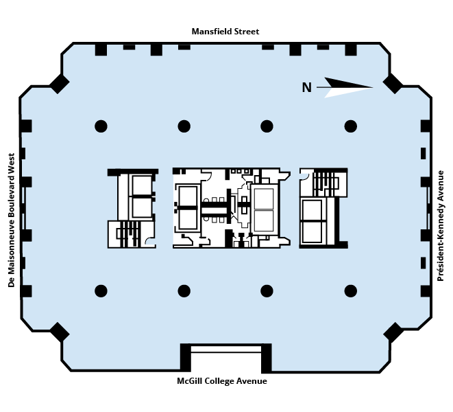 Tour Industrielle Alliance floor plan