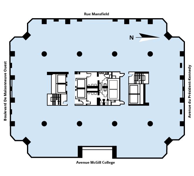 Plan d'étage Tour Industrielle Alliance